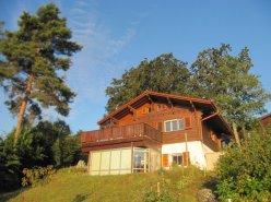 Gingins chalet avec belle vue lac et Alpes